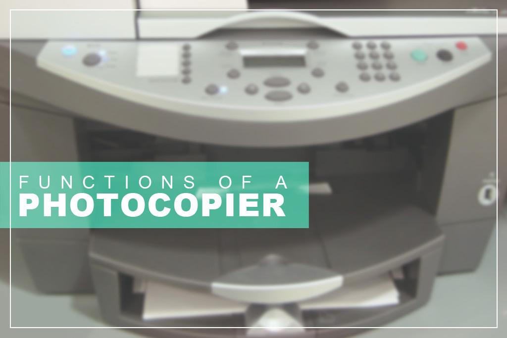 Function Photocopier