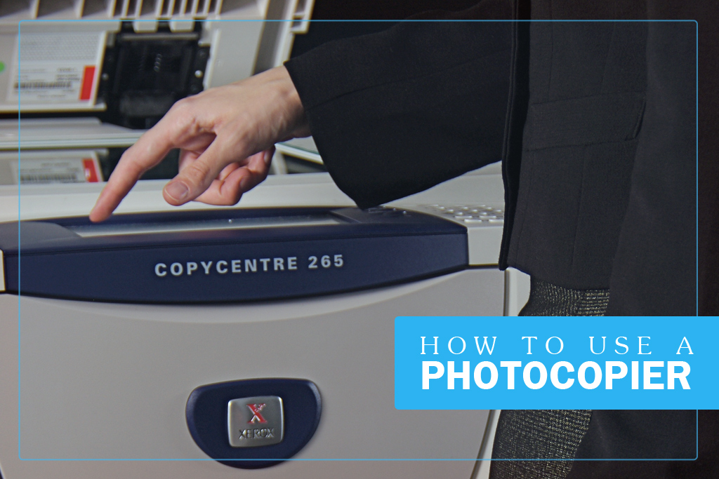 How to Use Copier