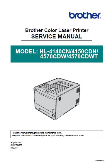 Brother Services Manual