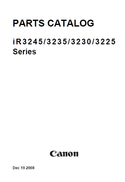 Canon ImageRUNNER Manual