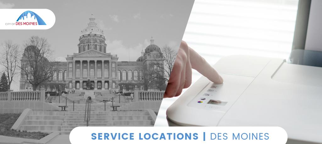 Service Location Des Moines