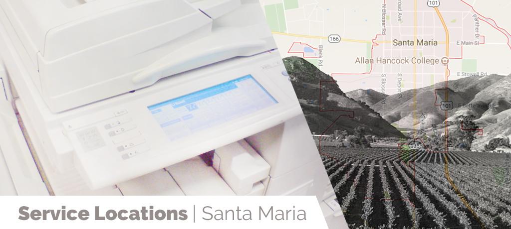 Service Location Santa Maria