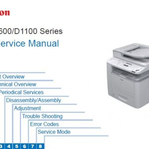 Canon 21 - Service Manual