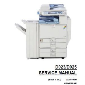 Ricoh Service Manual - Clear Choice Technical Services