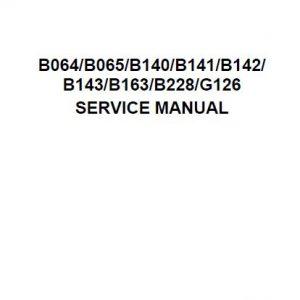 Ricoh Service Manual - Clear Choice Technical Services