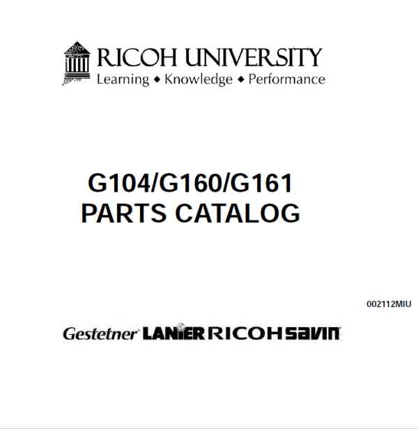 Part Catalog