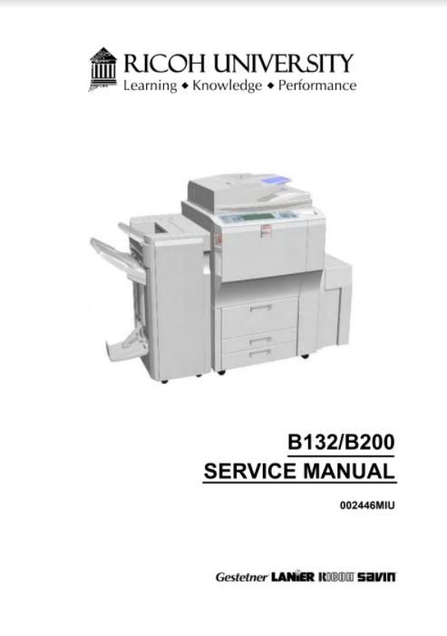 Gestetner DSc460 A