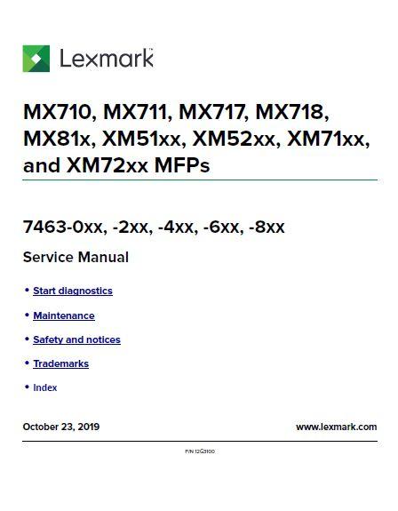 Lexmark 6 Clear Choice Technical Services
