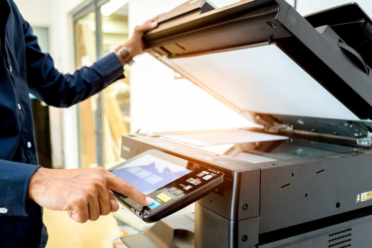 Copier Stock Photo - Clear Choice Technical Services