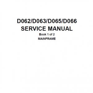 Pica Service Manual