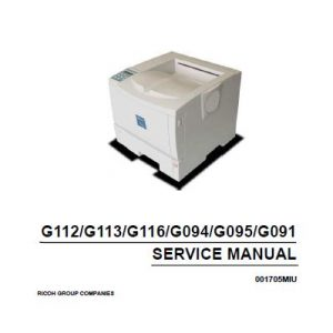 Ricoh Services Manual - Clear Choice Technical Services