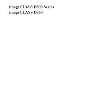 Canon imageCLASS Manual