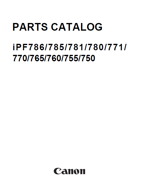Canon ImagePROGRAF Manual
