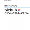 Konica Minolta BizHub Manual