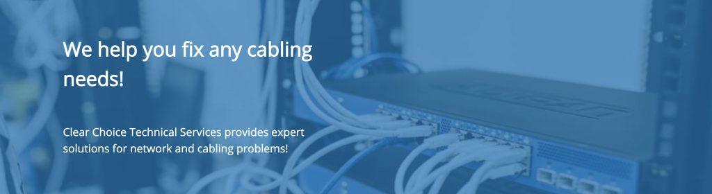 fix cabling