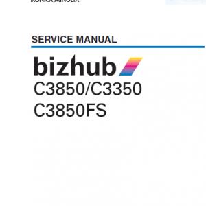Konica Minolta Service Manual
