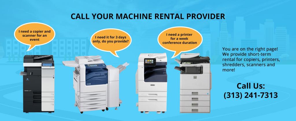 Call Your Machine Rental